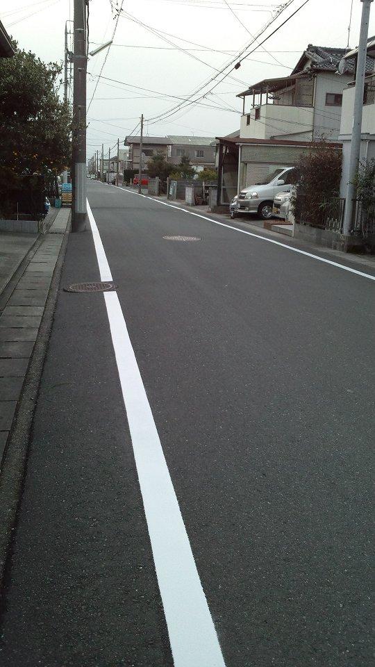 道路の白線: オカリナの虜 えん...